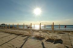 fotografia della spiaggia